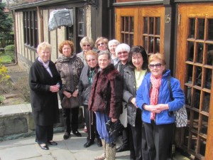 April 15, 2013 Writers' Chapter trip to the Algonquin Round Table